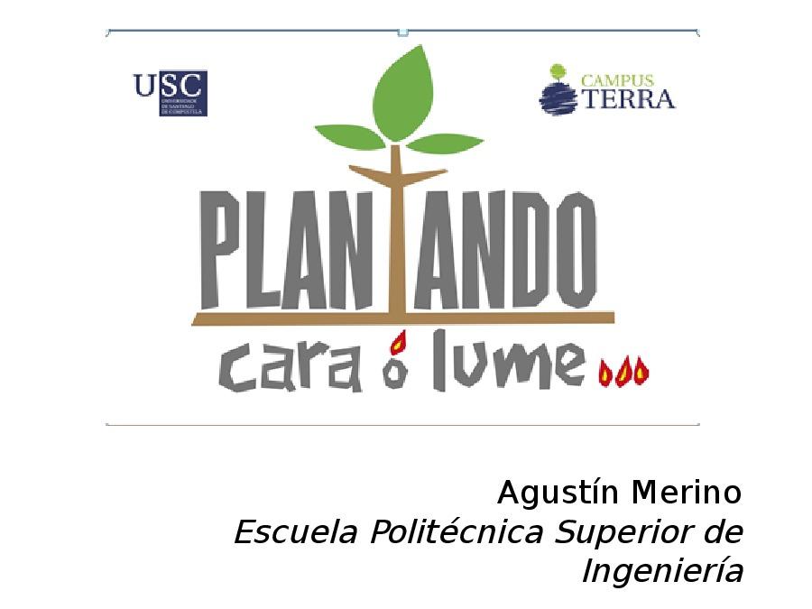 Presentación de Agustín Merino García